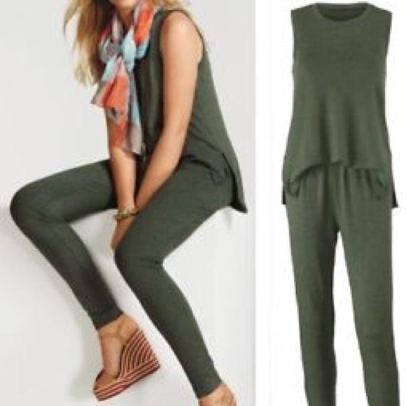 Big Saving! NEW $129 Cabi 2018 Spring Simple Playsuit Jumpsuit Size M